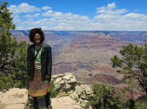 Me, at the Grand Canyon.